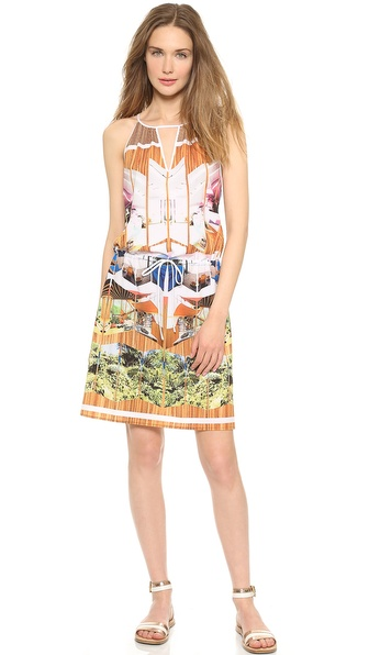 Clover Canyon Room with a View Tie Waist Dress
