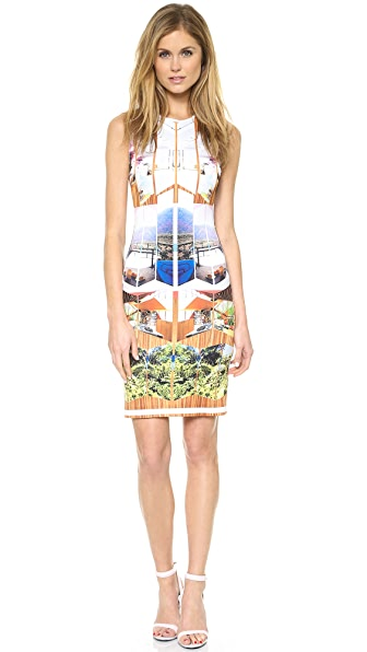 Clover Canyon Room with a View Pencil Dress