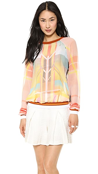 Clover Canyon Fluorescent Lights Pullover