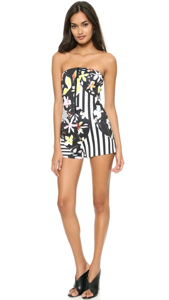 Clover Canyon Floral Discs Romper