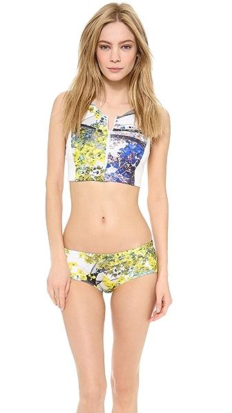 Clover Canyon Space Garden Bikini Top