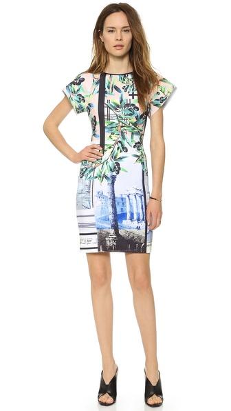 Clover Canyon Olive Tree Dress