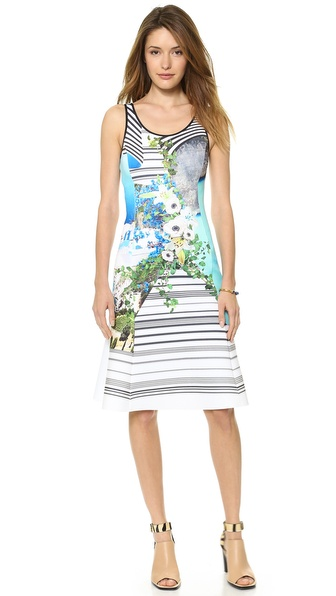 Clover Canyon Corfu Swirl Dress