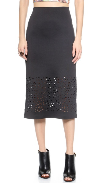 Clover Canyon Laser Cut Skirt