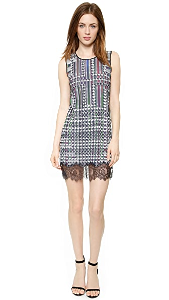 Clover Canyon Trinity College Lace Hem Dress