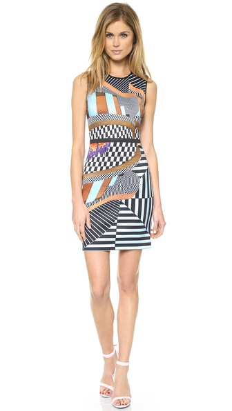 Clover Canyon Lautner Land Mini Dress