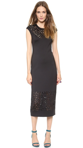 Clover Canyon Laser Cut Dress