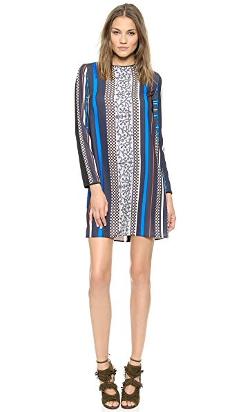 Clover Canyon Library Stripe Dress