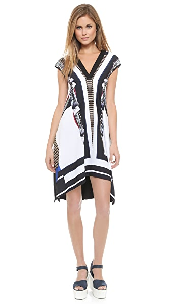Kupi Clover Canyon haljinu online i raspordaja za kupiti Clover Canyon Ancient Parellels Dress Multi online