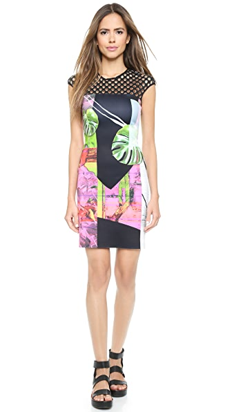 Clover Canyon Clover Canyon Painted Garden Dress (Multicolor)
