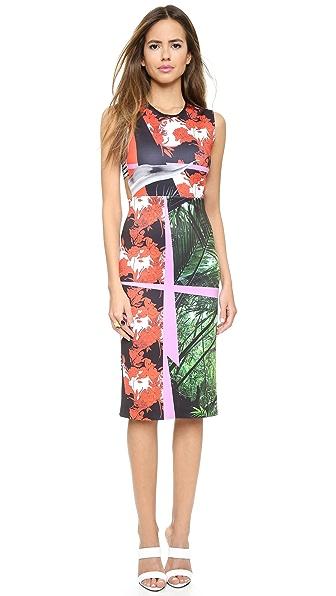 Kupi Clover Canyon haljinu online i raspordaja za kupiti Clover Canyon Secret Garden Cutout Dress Multi online