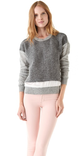 Shop Clu Colorblock Pullover and Clu online - Apparel,Womens,Sweaters,Pull_Over, online Store