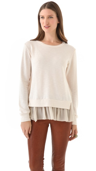 Clu Ruffled Pullover