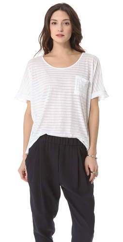 Clu Striped Loose Fit Top at Shopbop.com
