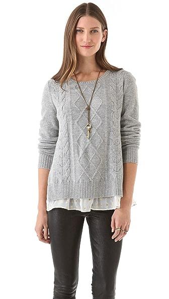 Clu Sweater with Metallic Trim