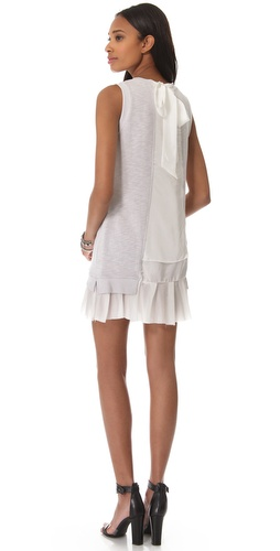 Clu Ruffle Tie Back Dress