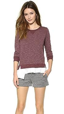 Clu Ruffled Sweatshirt