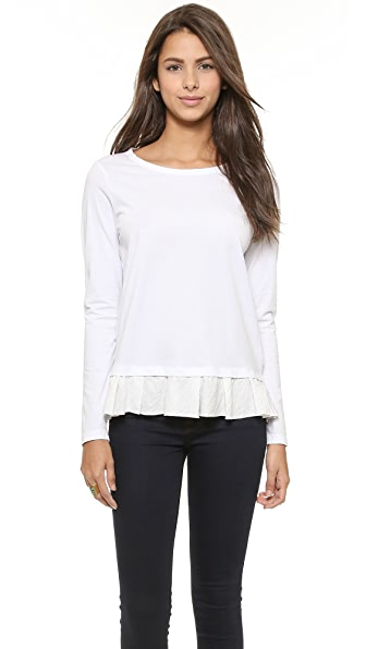Clu Clu Too Ruffled Top