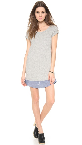 Clu Clu Too Shirt Tailed T-Shirt Dress