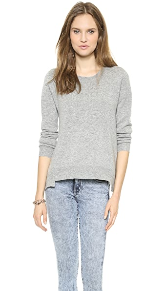 Clu Contrast Back Pullover