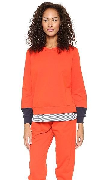 Clu Clu Too Color Block Sweatshirt