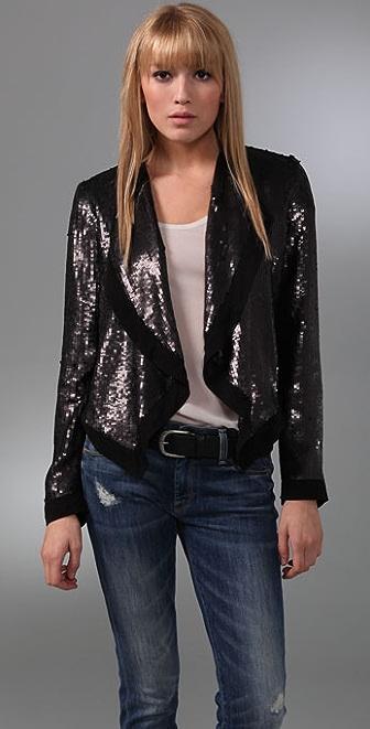 Club Monaco Cora Sequin Jacket