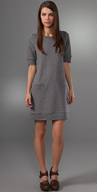 Club Monaco Archer Sweatshirt Dress