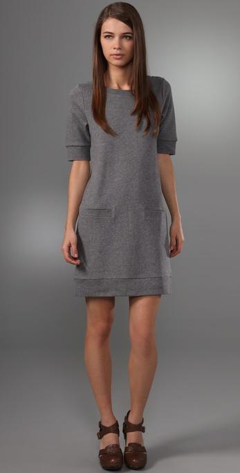 Club Monaco Archer Sweatshirt Dress