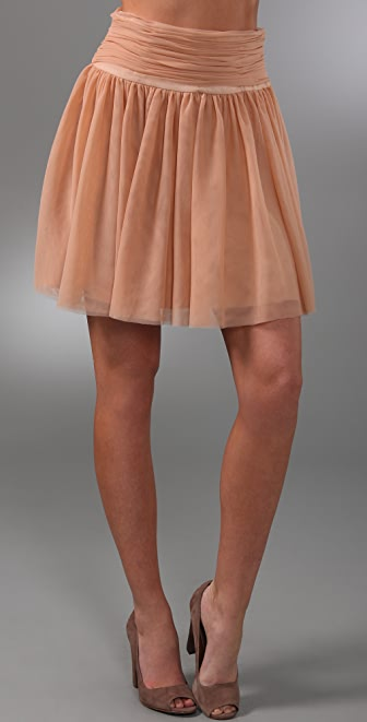 Club Monaco Olga Tulle Skirt