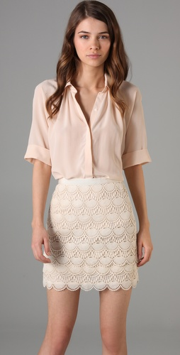 Club Monaco Hunter Blouse