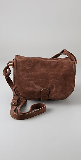 Club Monaco Suede Carrie Bag