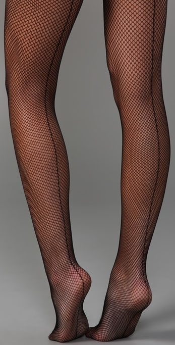 Club Monaco Fishnet Tights
