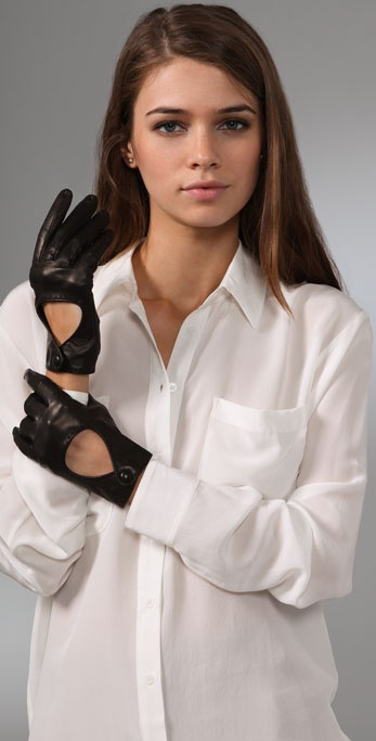 Club Monaco Anne Driving Gloves