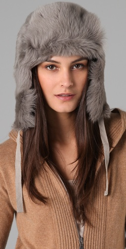 Club Monaco Drew Fur Trapper Hat