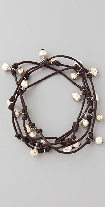 Club Monaco Pearl Rope Bracelet / Necklace