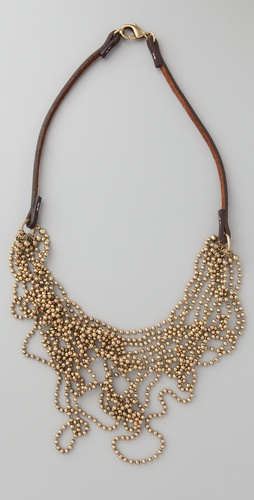 Club Monaco Messy Ball Chain Necklace