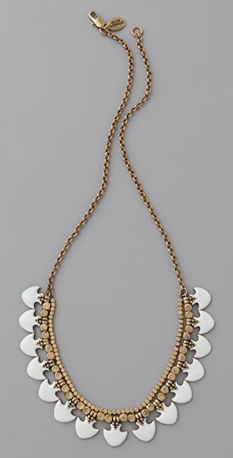 Club Monaco Enamel Bead Necklace