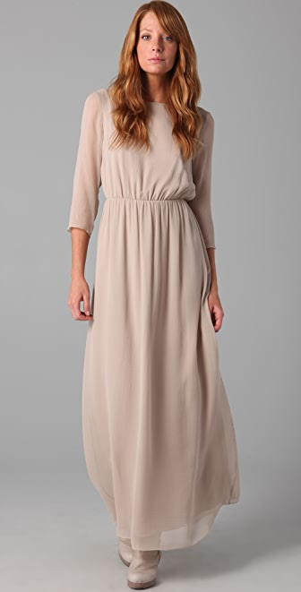 Club Monaco Elvie Long Dress