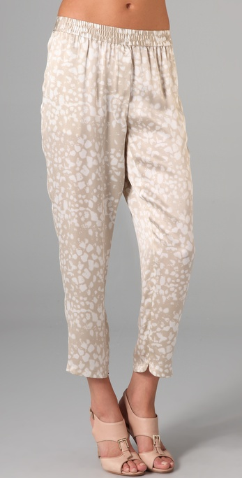 Club Monaco Selena Printed Pants