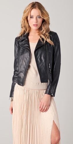 Club Monaco Carlye Moto Jacket