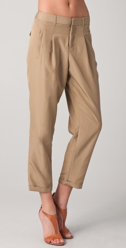 Club Monaco Tyra Pleated Pants