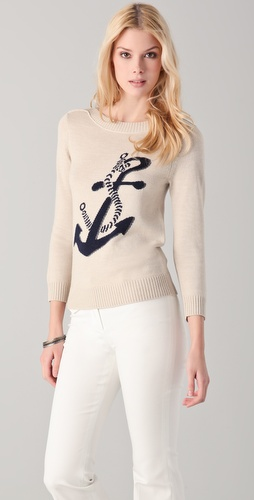 Club Monaco Mary Intarsia Sweater