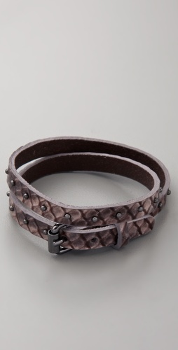 Club Monaco Nancy Snake Wrap Bracelet
