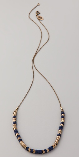 Club Monaco Sasha Snake Bead Necklace