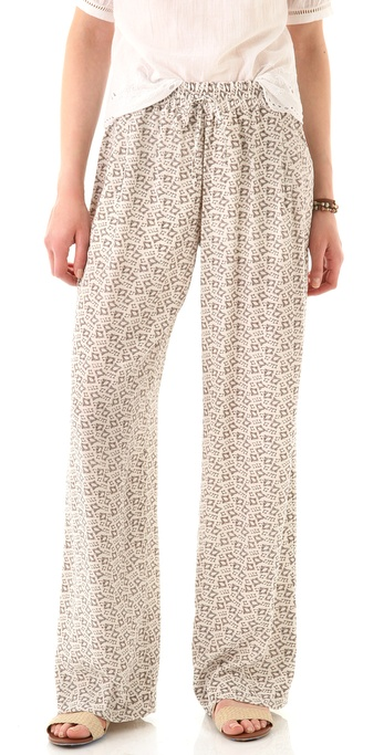 Club Monaco Lesley Wide Leg Pants