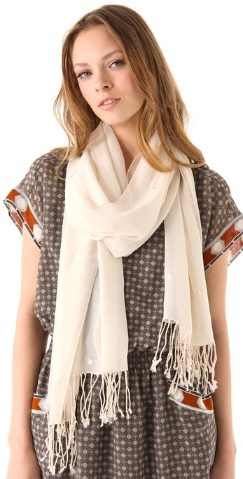 Club Monaco Dotty Mirror Scarf
