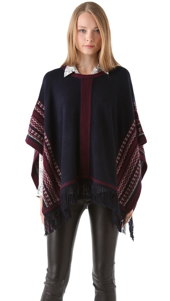 Club Monaco Uma Poncho