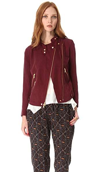 Club Monaco Elsa Moto Jacket