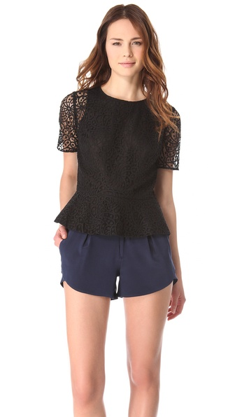 Club Monaco Ori Lace Shirt