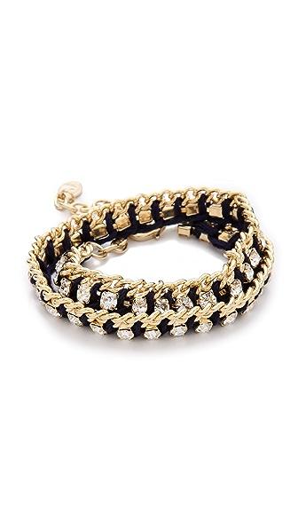 Club Monaco Crystal Thread Bracelet